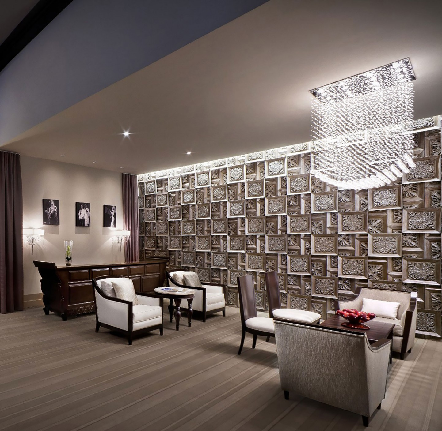 Hard rock punta cana the gettys group for Vip room interior design