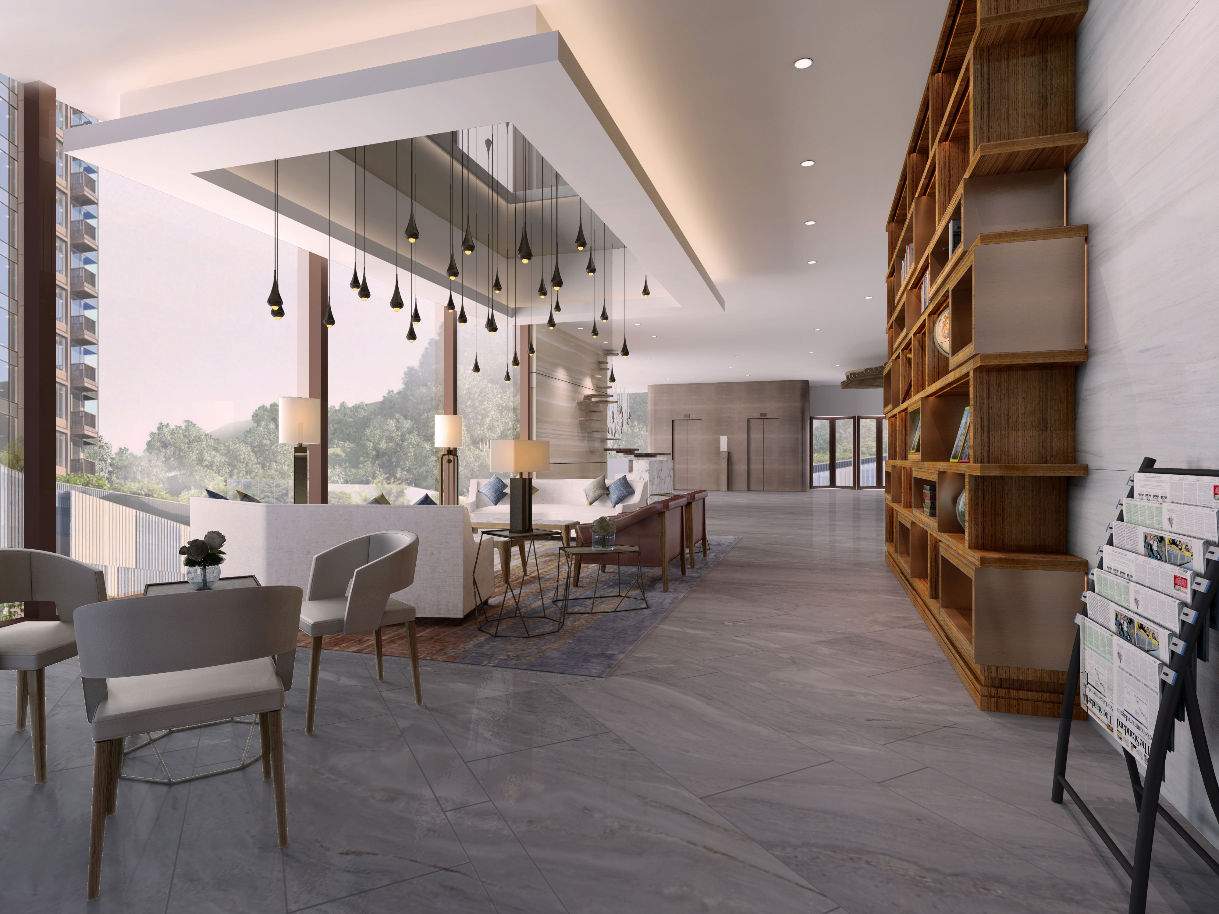 Ho Man Tin Sheung Lok Street Luxury Clubhouse The Gettys
