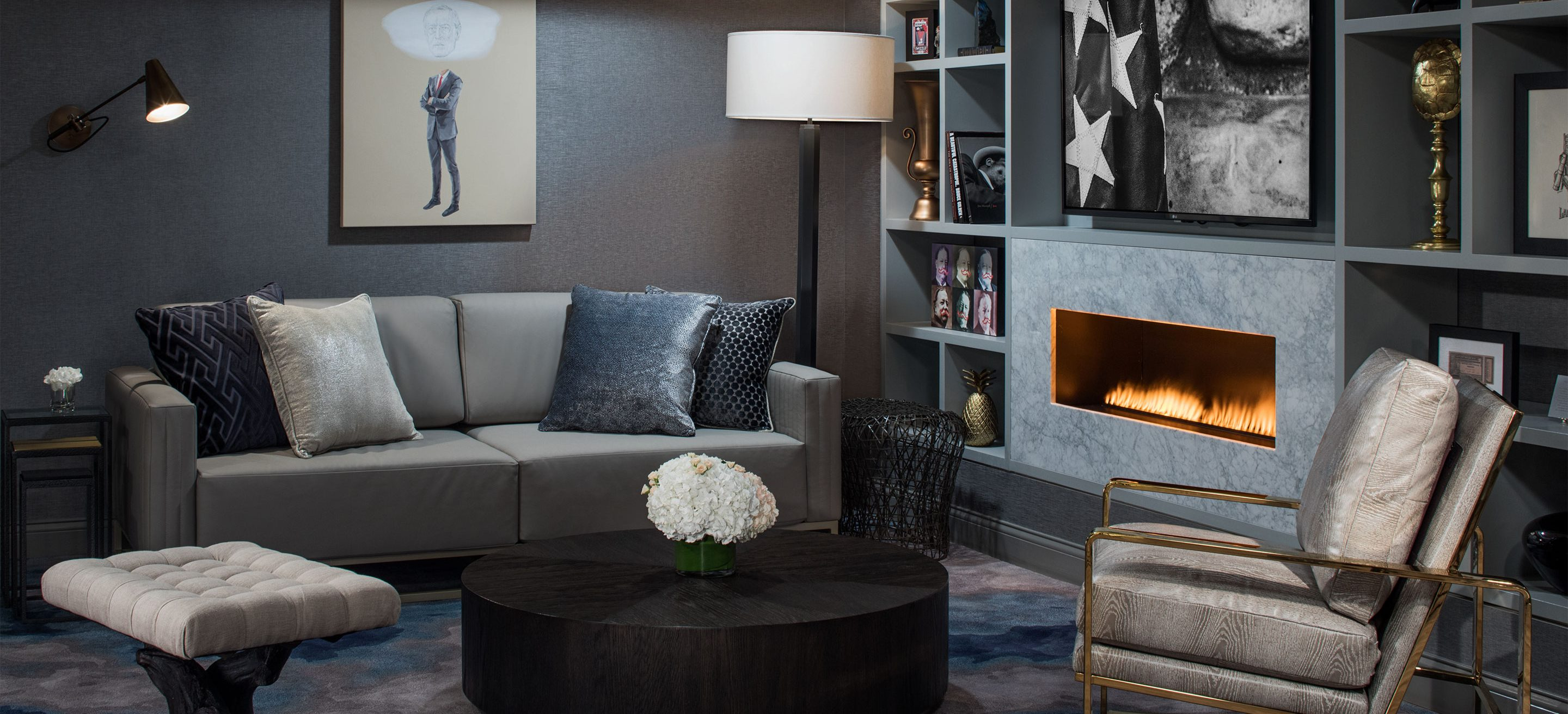 luxury hotel interior design the blackstone hotel in chicago gettys