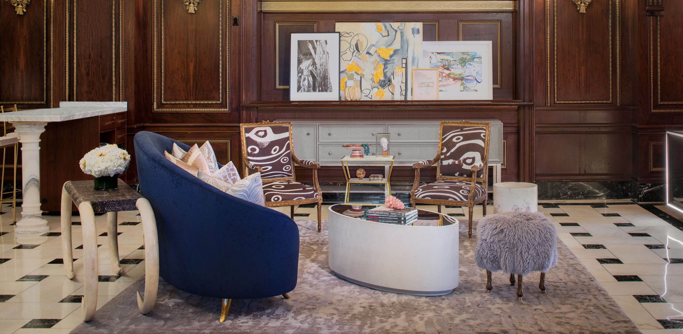 supporting the arts in a district known for murals and art schools the blackstone acts as a community patron by displaying rotating collections by local - Blackstone Home Design